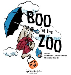 Boo at the Zoo Shirt - Child Youth M (10-12)