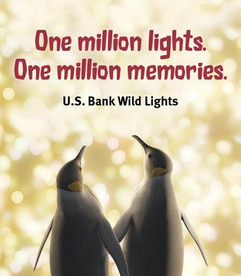 U.S. Bank Wild Lights Weekends (Fri-Sun)