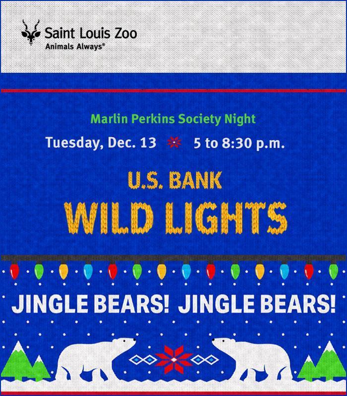 Sensory Night at U.S. Bank Wild Lights (Dec. 10)