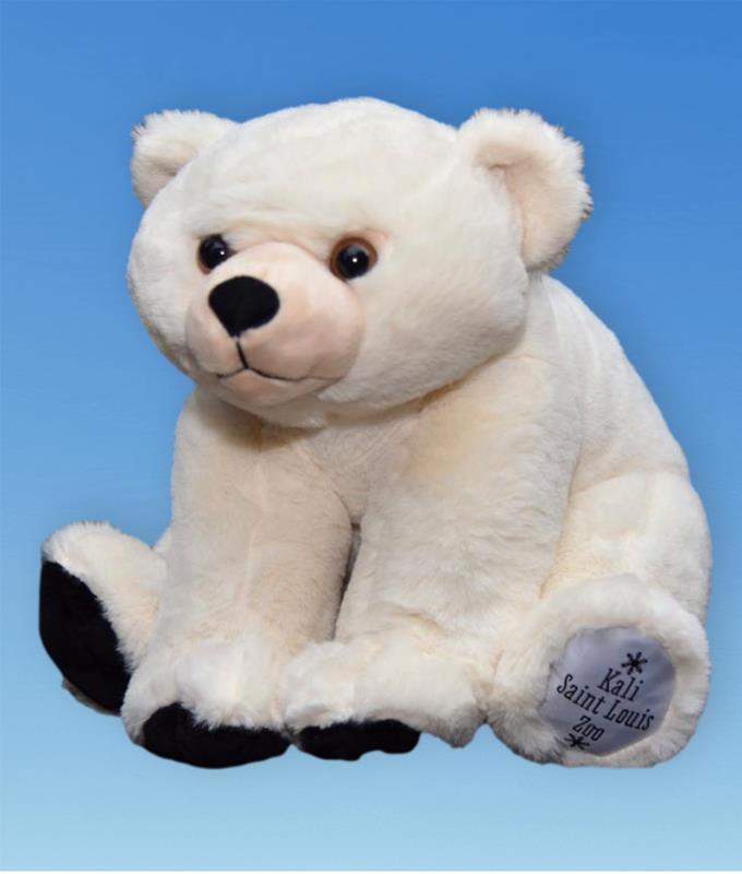 POLAR BEAR PLUSH,19998