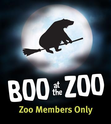 Boo at the Zoo Member Admission