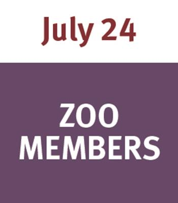 Jammin' at the Zoo July 24 - Member
