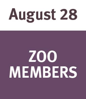 Jammin' at the Zoo August 28 - Member