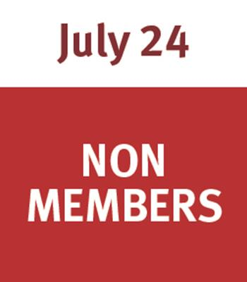 Jammin' at the Zoo July 24 - Non Member